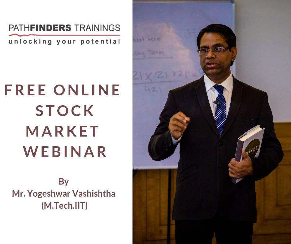 Free Online Stock Market Training by Yogeshwar Vashishtha (M.Tech. IIT)